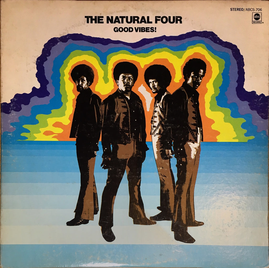 The Natural Four ‎– Good Vibes! - monads records