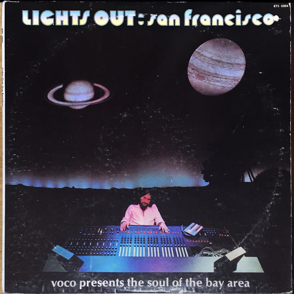 Various ‎– Lights Out: San Francisco (Voco Presents The Soul Of The Bay Area) - monads records