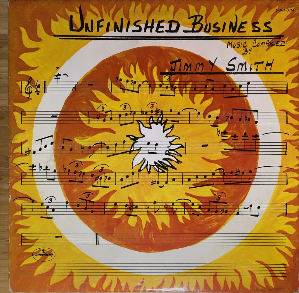Jimmy Smith ‎– Unfinished Business - monads records