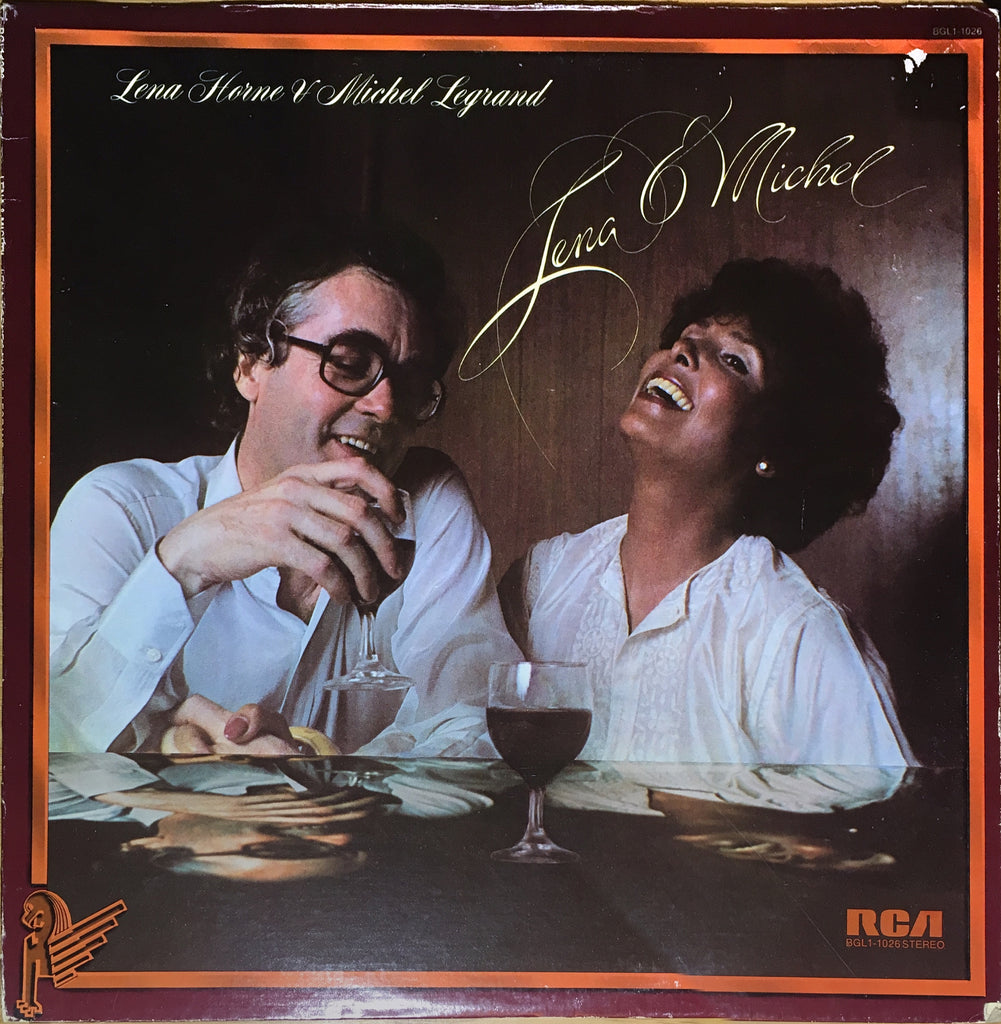 Lena Horne & Michel Legrand ‎– Lena & Michel - monads records