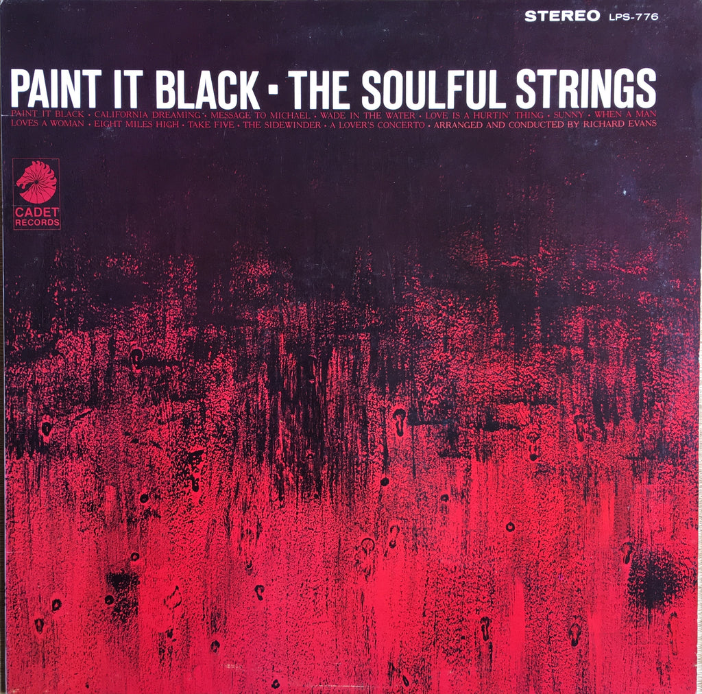 The Soulful Strings ‎– Paint It Black - monads records