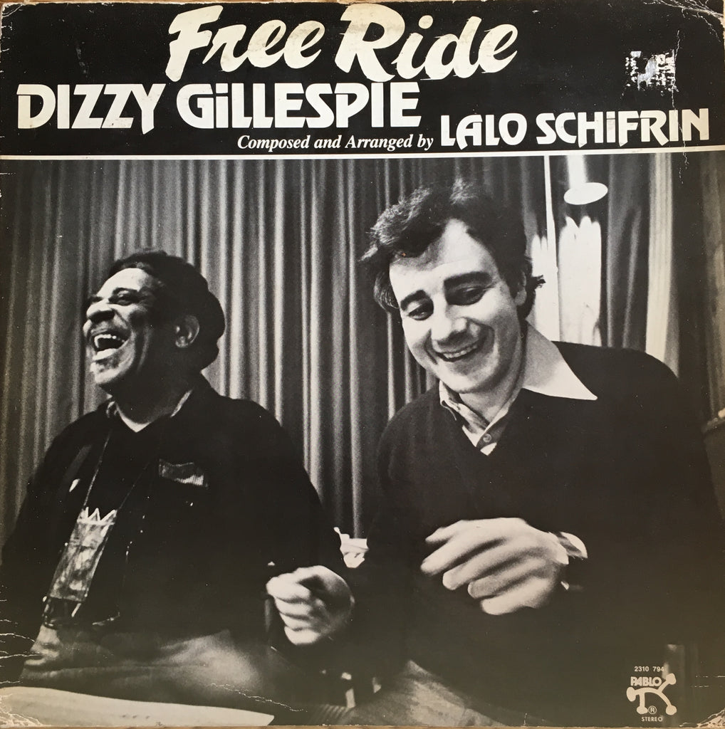 Dizzy Gillespie ‎– Free Ride - monads records