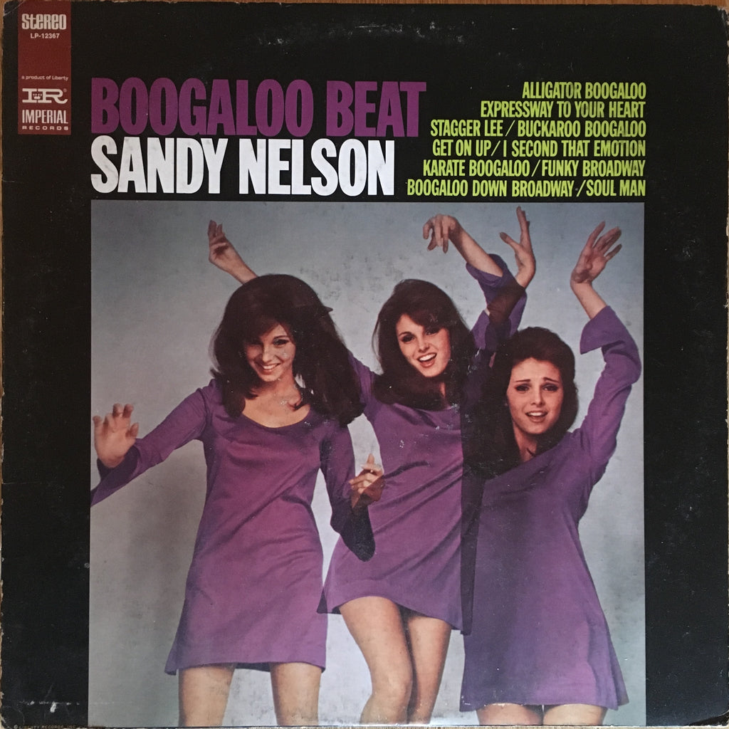 Sandy Nelson ‎– Boogaloo Beat - monads records