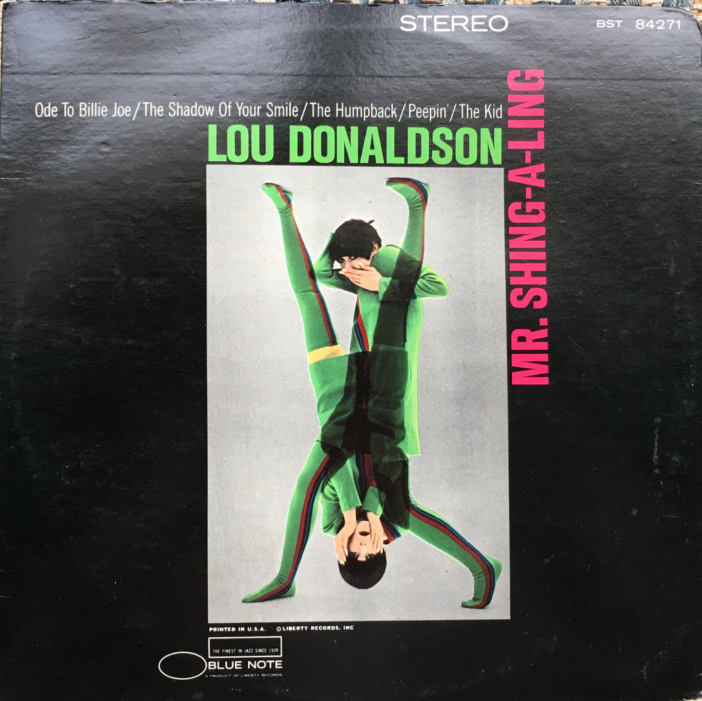 Lou Donaldson ‎– Mr. Shing-A-Ling - monads records