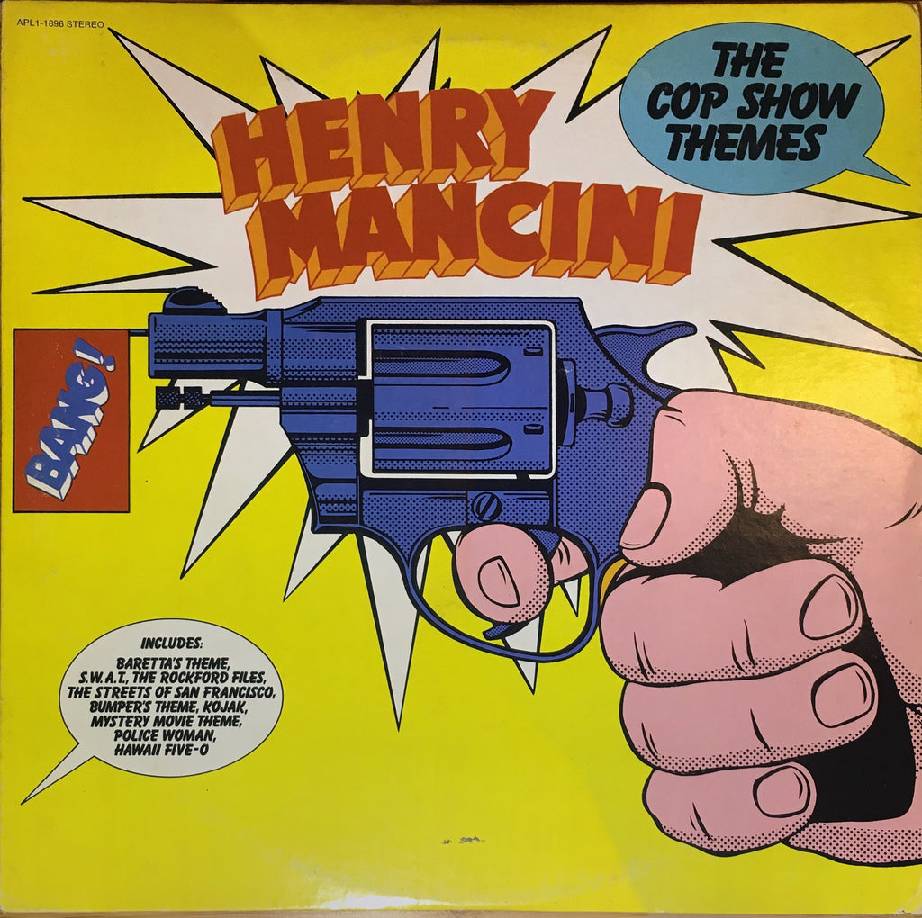 Henry Mancini ‎– The Cop Show Themes - monads records