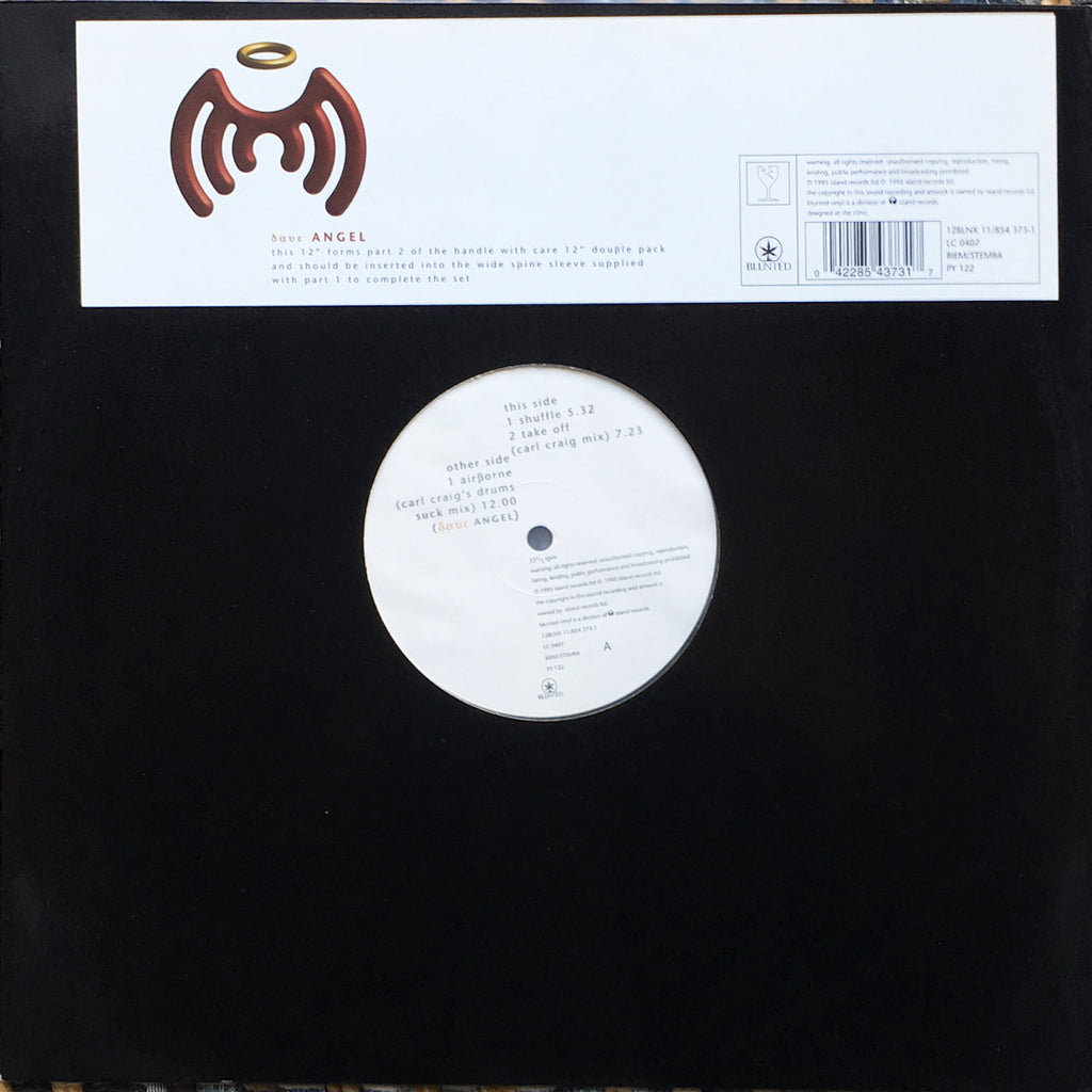 Dave Angel ‎– Handle With Care E.P - monads records