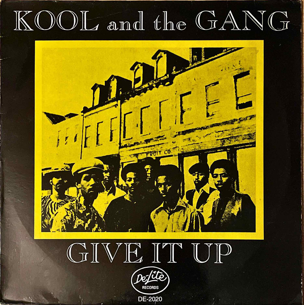 Kool And The Gang ‎– Give It Up LP sleeve image front