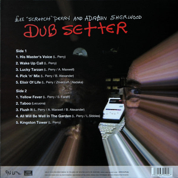 Lee 'Scratch' Perry and Adrian Sherwood ‎– Dub Setter - monads records