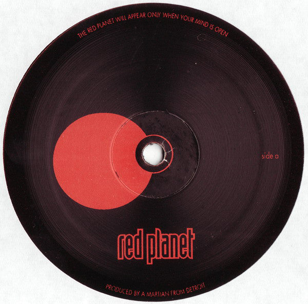 The Martian ‎– Meet The Red Planet - monads records