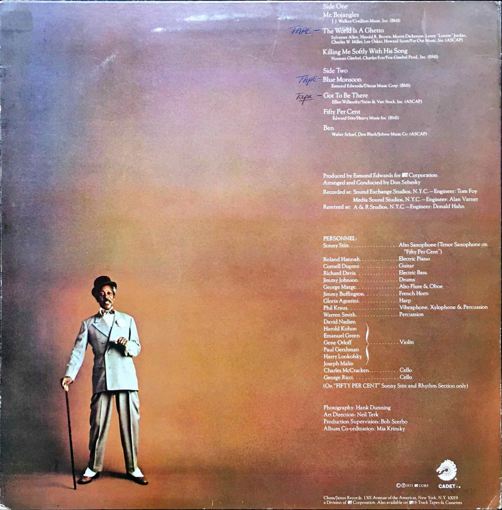 Sonny Sitt Mr Boiangles LP Sleeve image back