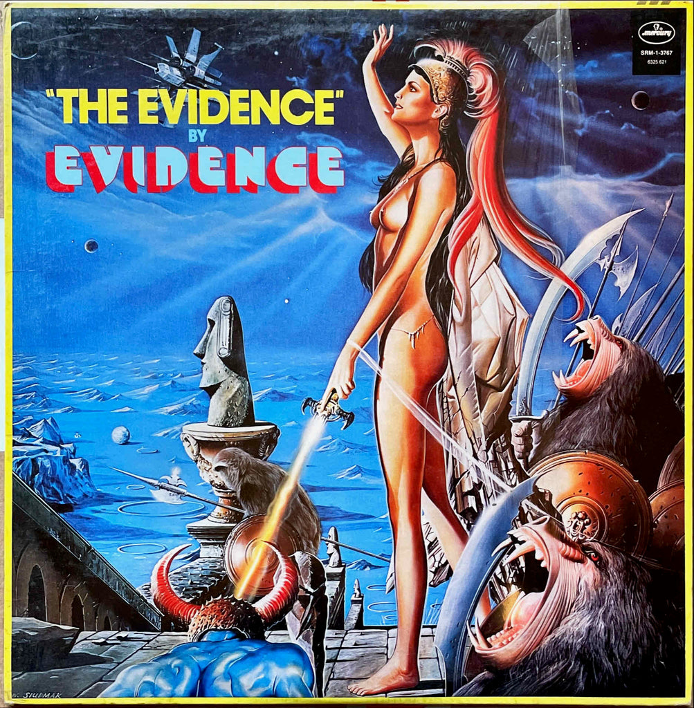 Evidence ‎– The Evidence LP sleeve image front