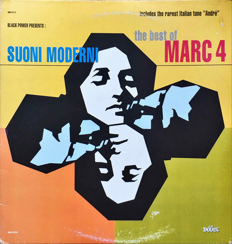 I Marc 4 ‎– Suoni Moderni - The Best Of Marc 4 LP sleeve image front