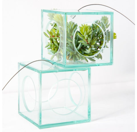 Hanging Glass Cube