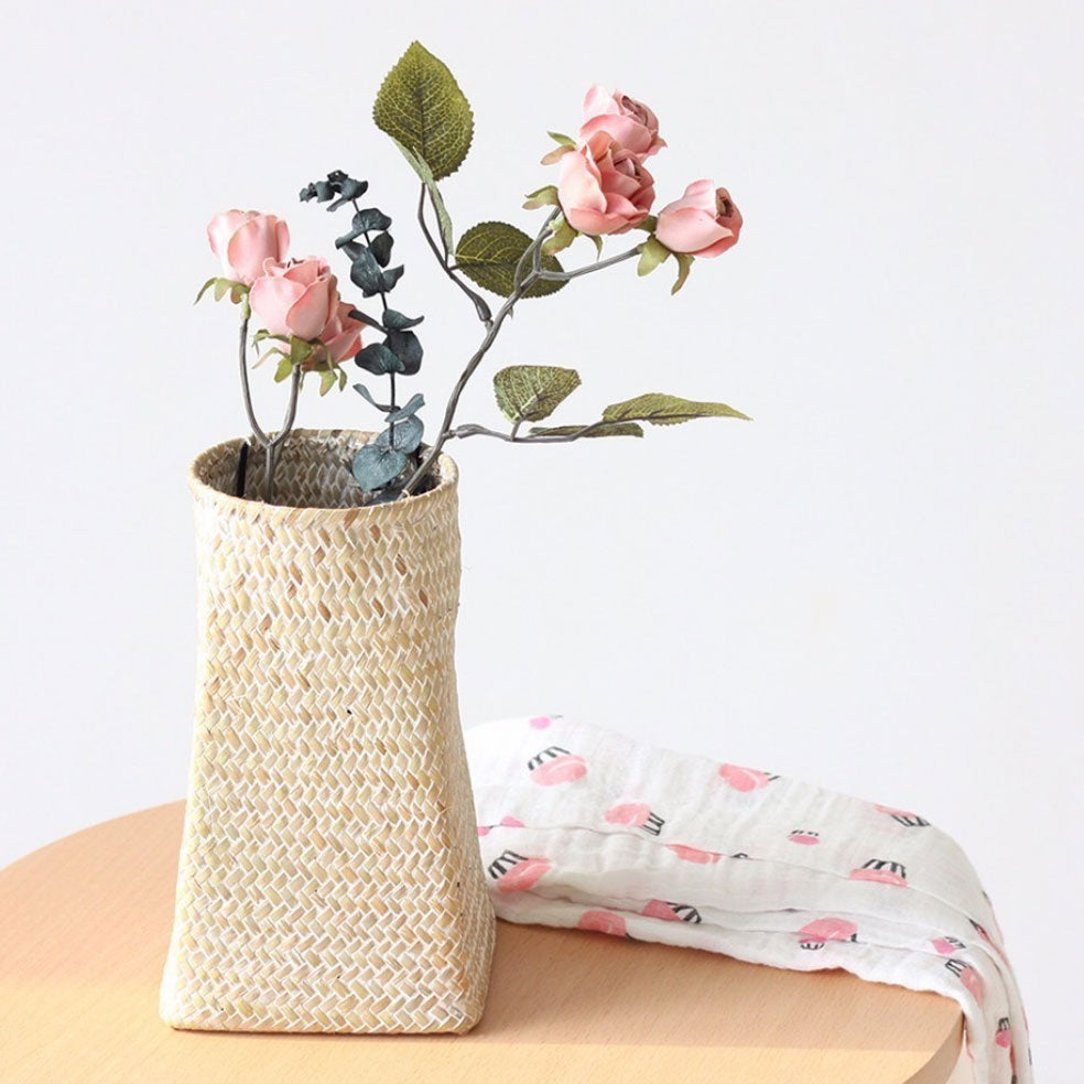 Seagrass Flower Vase and Planter