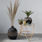Metal Bamboo Plant Stand / Plant Table