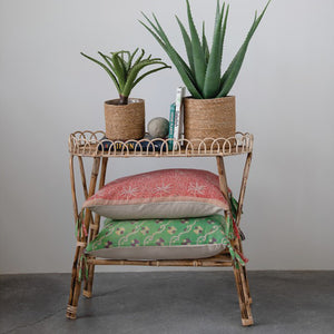 Woven Plant Stand / Plant Table