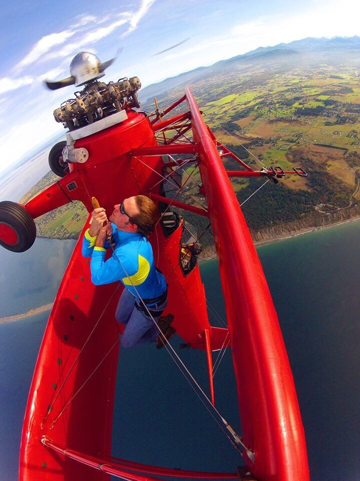 WINGWALKING @ Sequim, Washington - ExistTravels
