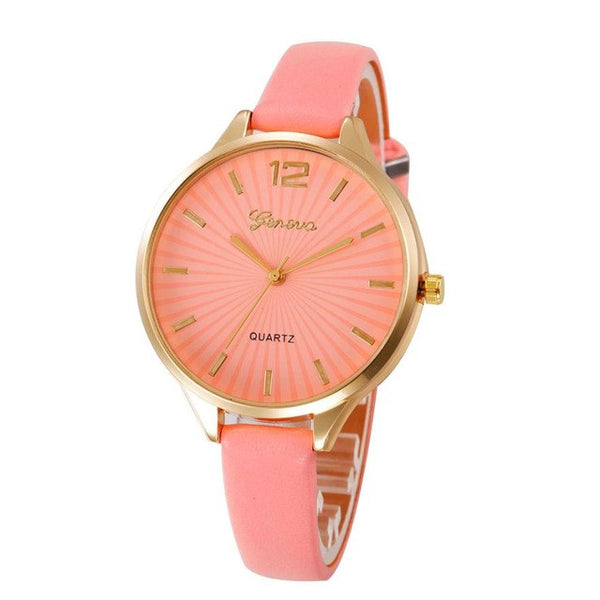 Genvivia Women Watch montre sport femme Casual Quartz