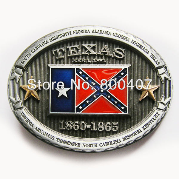 Retail Distribute Texas Belt Buckle