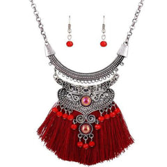 Pendant Necklace Jewelry fashion tassel