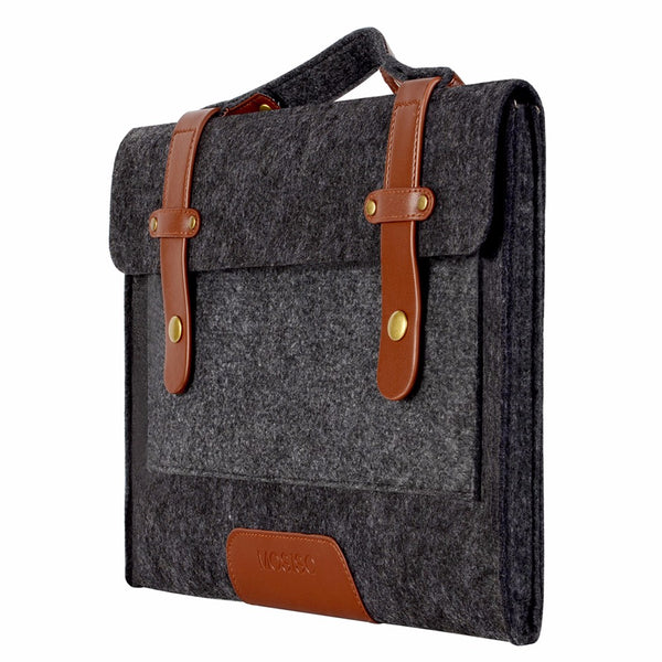 Men Felt Laptop Case Bag for Macbook Air