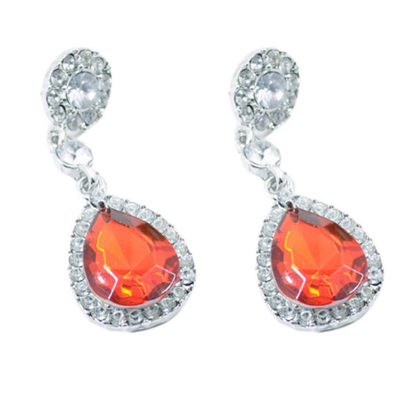 Women fashion Crystal Jewelry Drop Earrings