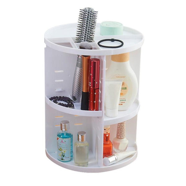 Display Spinning Rack Storage Box Makeup