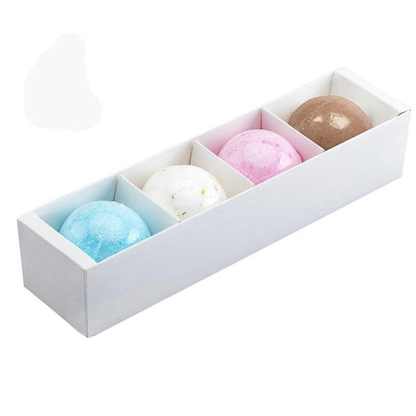 Rose Lavender Cornflower Green tea Bath Bombs Ball