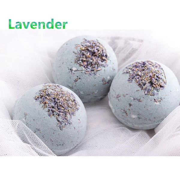 1PC Deep Sea Bath Salt Lavender Lemon Bombs Ball