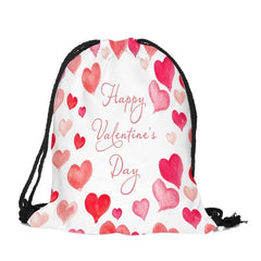 Valentine's Day Drawstring Bag Sack Sport women's
