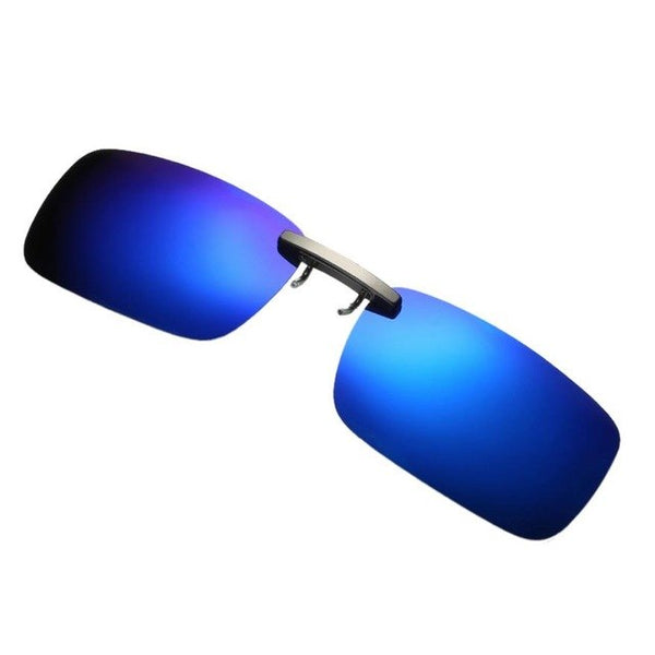 Detachable Night Vision Lens Driving Metal Polarized Clip On Glasses Classic  unglasses