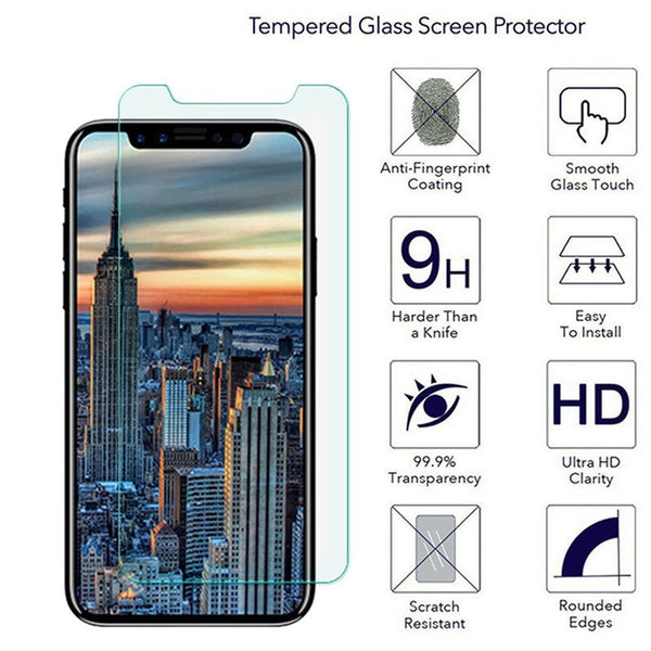 for iPhone 7 protective glass for iPhone X screen protector for iPhone 6 6S 7 8 plus 5 5S SE 4 4s XS