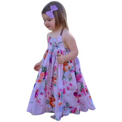 Toddler Kids Baby girls Strap Floral Dresses