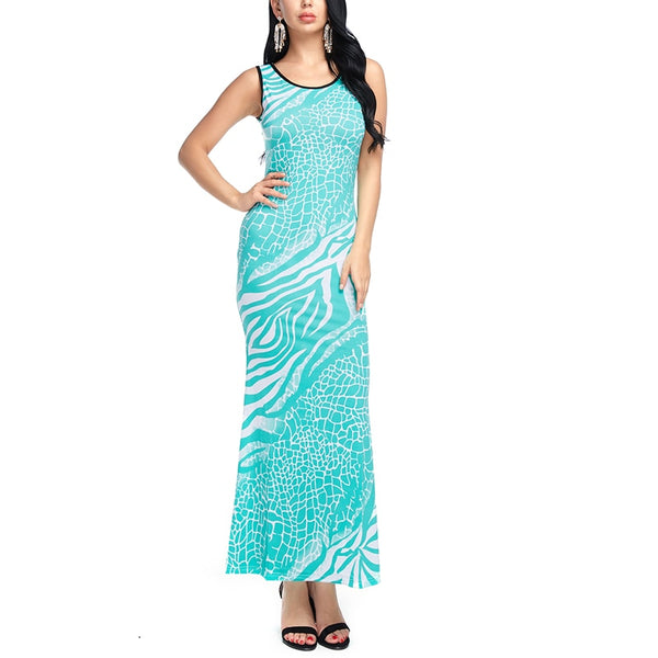 Women Maxi Spring Summer Beach Off Shoulder Dress