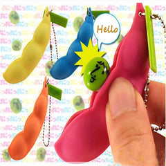 Band Fun Beans Squeeze Toys Pendants Anti Stressball  Funny Gadgets