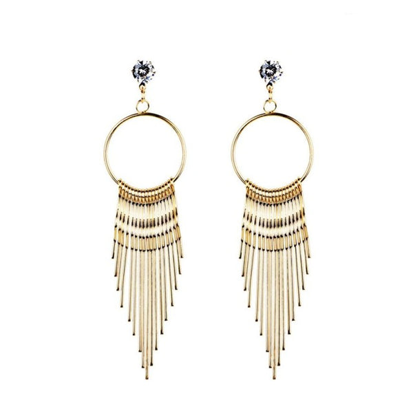 Women Dangle Earrings Crystal fashion Jewelry