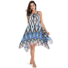 Beach Dress Women Sexy Sundress Casual Loose