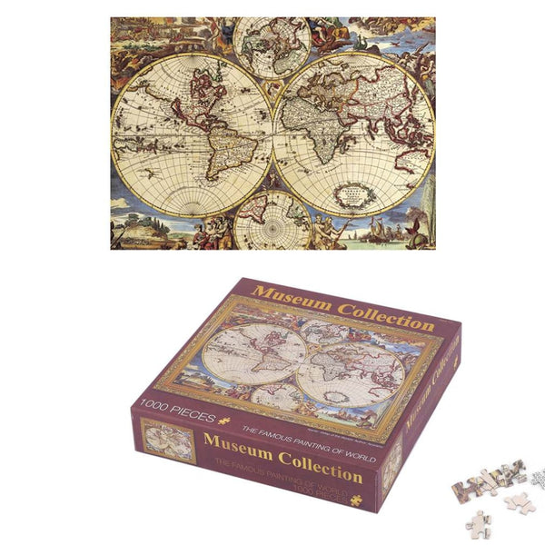 Famous Painting of World Art Gallery Oil Jigsaw Puzzle