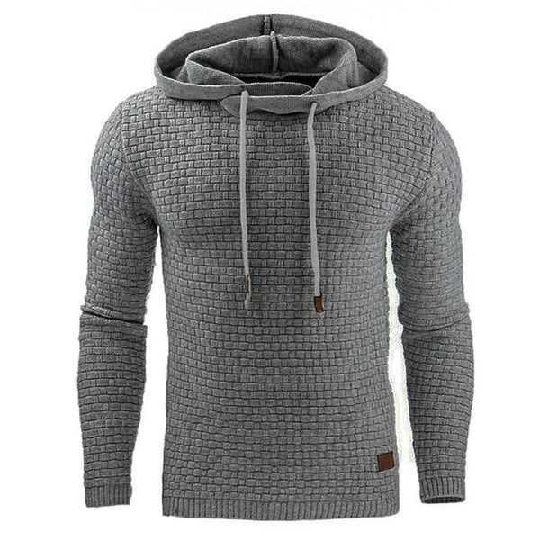Casual Men's Hoodies Solid Color Sweatshirt