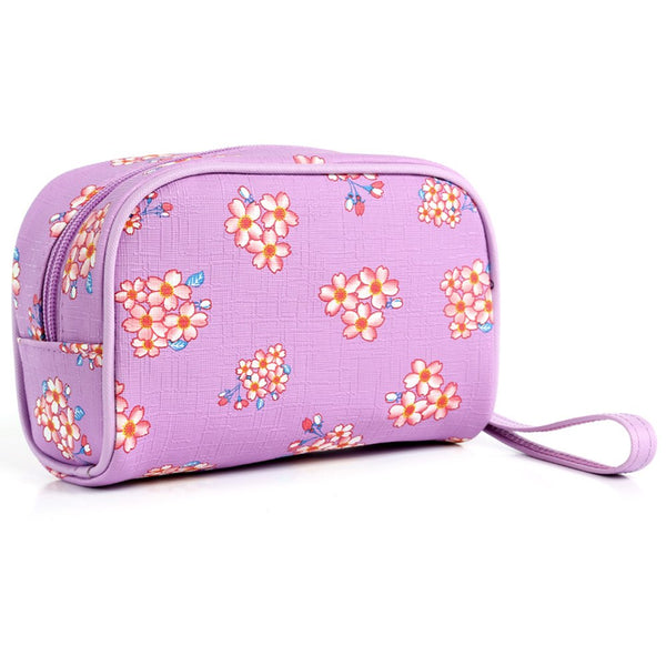 Floral Printing Makeup Bag Girls Women Cosmetic