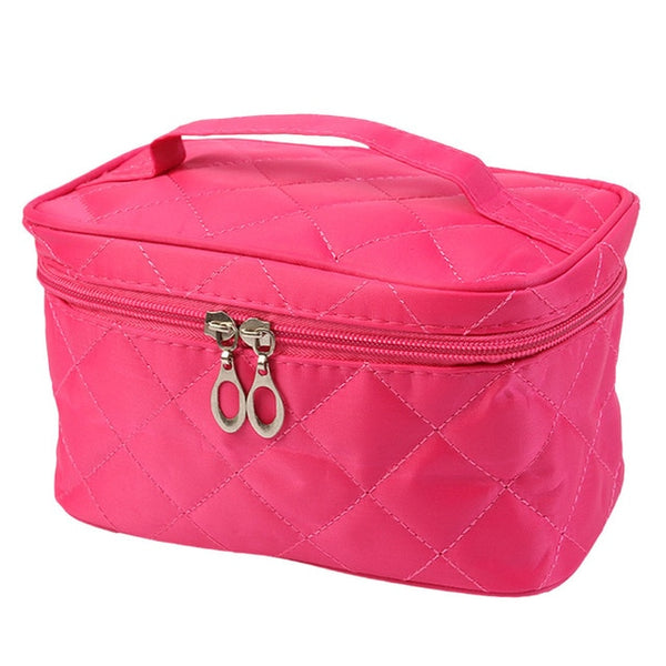 Travel Box Solid Cosmetic Bag For Make Up