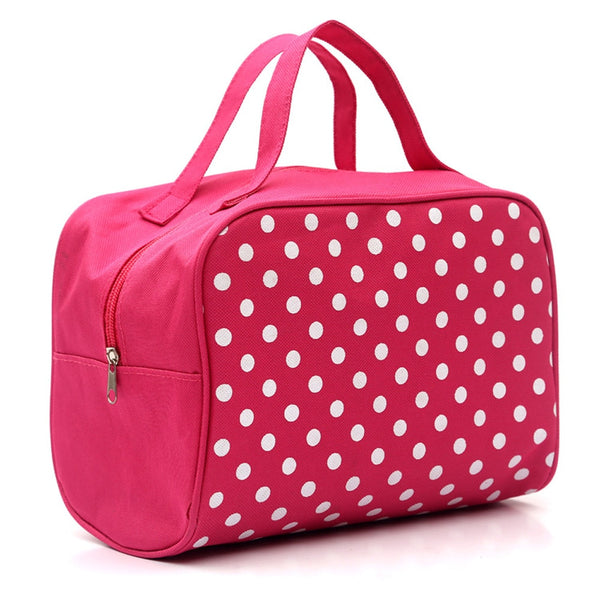 Makeup Suitcase Portable Multifunction Cosmetic Bag