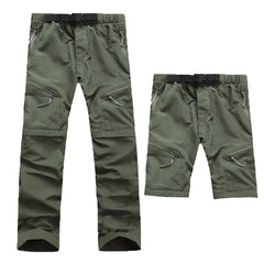 Men's Quick Dry Removable Hiking Pants Outdoor