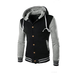 Men Coat Jacket Outwear Sweater Winter Slim Hoodie