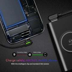 USB Type C 90 Fast Charging Type-c Data Cord Android Charger