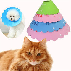 S/XL Pet Dog Cat Protection Ring Protection Wound Neckline Collar