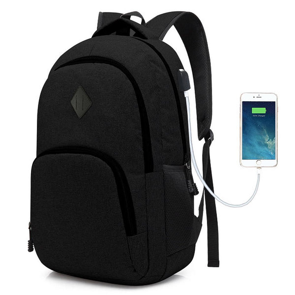 Laptop College Backpack Waterproof Bag For Men