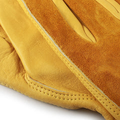 Men's Female Work Gloves Cowhide Driver