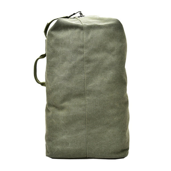 Men's travel mountaineering Canvas shoulder backpack