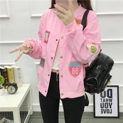 Autumn Women Outerwear Jackets Streetwear
